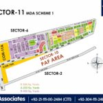 New Malir Housing Scheme 1 Karachi – Sector 11 Map