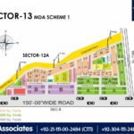 New Malir Housing Scheme 1 Karachi – Sector 13 Map