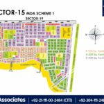 New Malir Housing Scheme 1 Karachi – Sector 15 Map