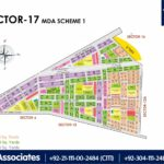 New Malir Housing Scheme 1 Karachi – Sector 17 Map