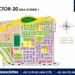 New Malir Housing Scheme 1 Karachi – Sector 20 Map