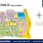 New Malir Housing Scheme 1 Karachi – Sector 21 Map