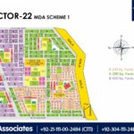 New Malir Housing Scheme 1 Karachi – Sector 22 Map