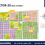 New Malir Housing Scheme 1 Karachi – Sector 23 Map
