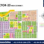 New Malir Housing Scheme 1 Karachi – Sector 23 Map