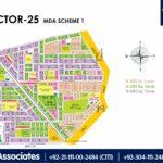 New Malir Housing Scheme 1 Karachi – Sector 25 Map