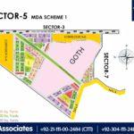 New Malir Housing Scheme 1 Karachi – Sector 5 Map