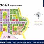 New Malir Housing Scheme 1 Karachi – Sector 7 Map