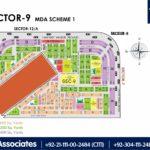 New Malir Housing Scheme 1 Karachi – Sector 9 Map